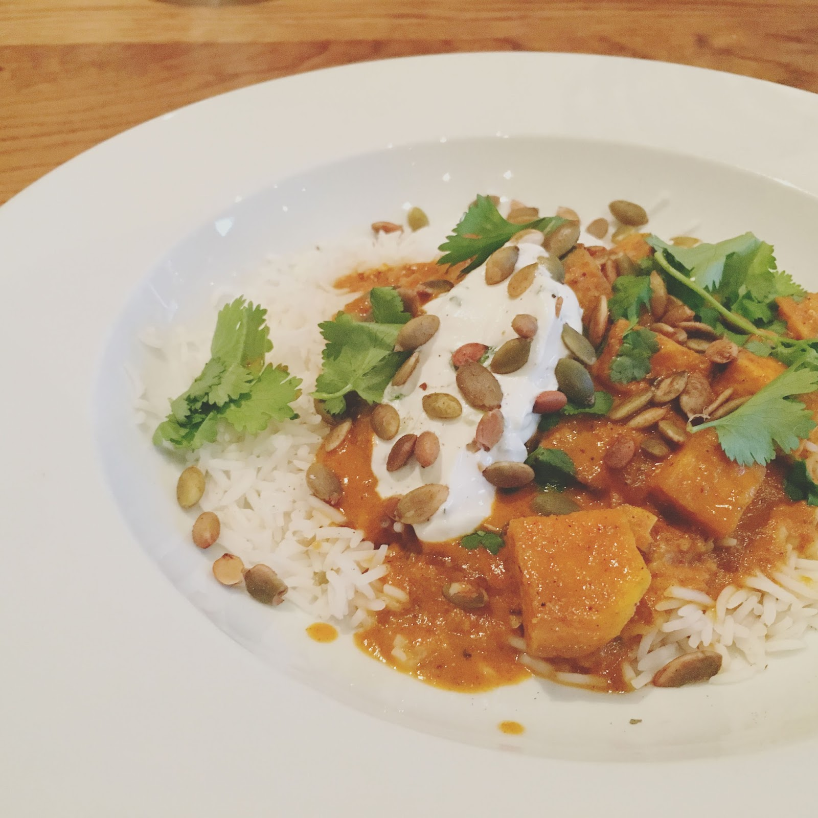 vegetarian tikka masala at Hunky Dory - A restaurant in Houston, Texas