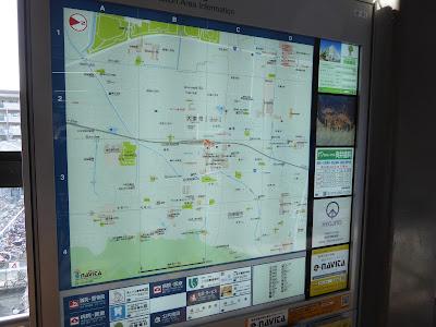 JR四条畷駅周辺の案内図