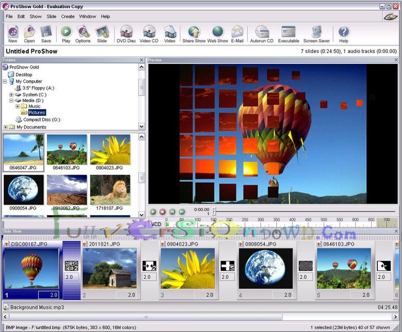 Photodex ProShow Gold Full Version