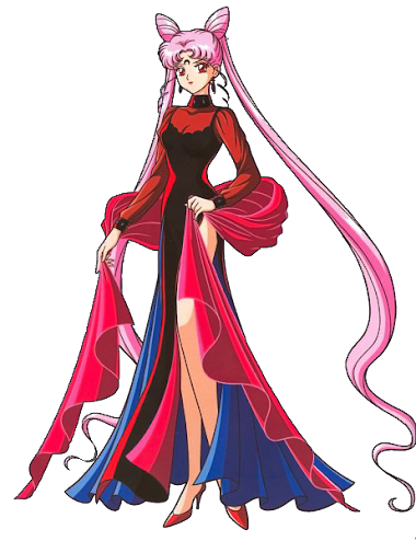 Render Black Lady `+ Sailor Moon