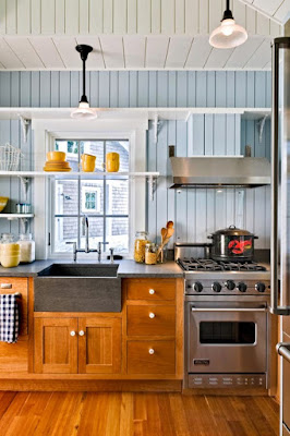 Penggunaan Interior Kitchen Set Minimalis Yang Efektif