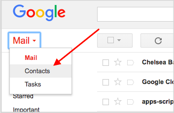 G Suite Updates Blog: Ensuring your users can access Google Contacts