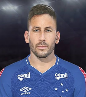PES 2018 Faces Ariel Cabral by Lucas Facemaker