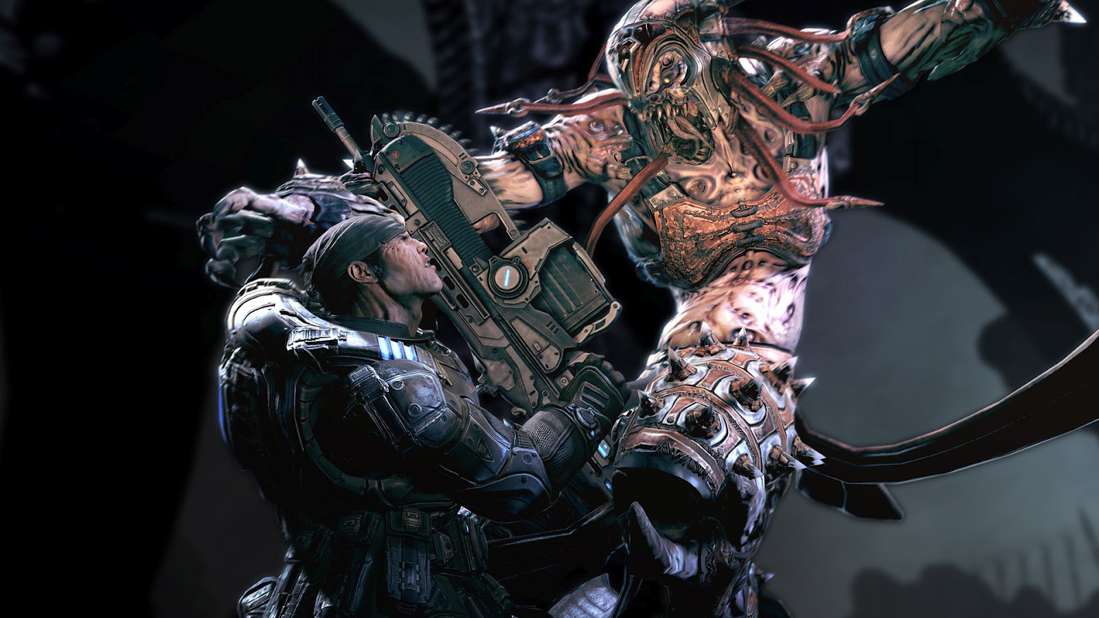 Monsters and demons wallpapers 3d monsters wallpapers free wallpapers download - Gears of war carmine wallpaper ...