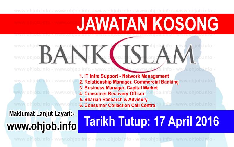 Jawatan Kerja Kosong Bank Islam logo www.ohjob.info april 2016