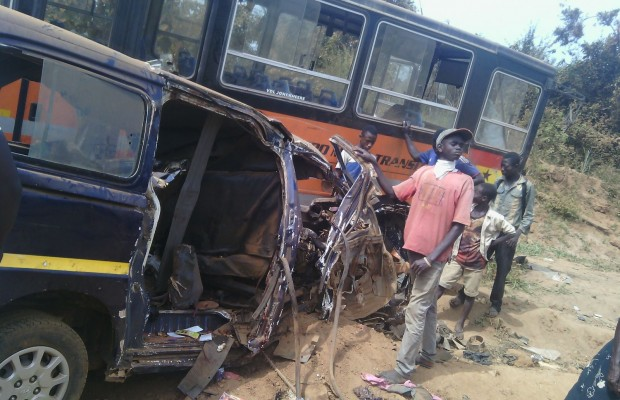 12 dead in gory Jasikan, Kasoa accident