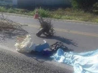 Batida entre carro e moto deixa um morto em trecho da BR-230 na Paraíba