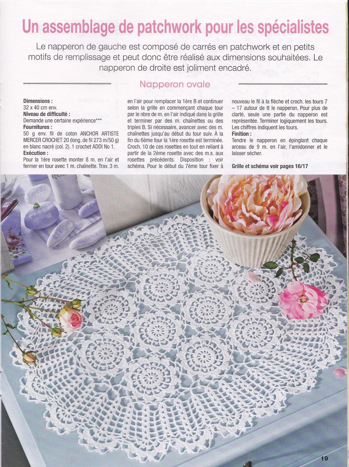 Créations Crochet Napperon