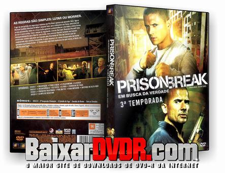 Prison Break – 3ª Temporada Completa (2007) DVD-R Oficial