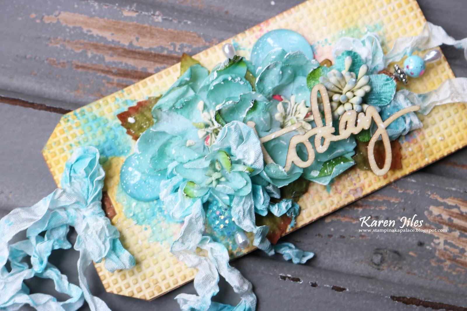 Craftwell Blog: Inspirational Tag by Karen Jiles