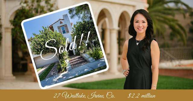 Soldy by Realtor Cindy Hanson 27 Westlake, Irvine California