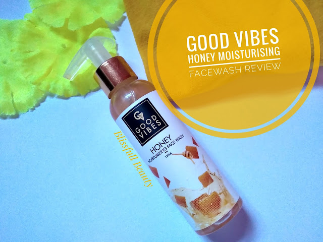 Good Vibes Honey Moisturizing Facewash Review