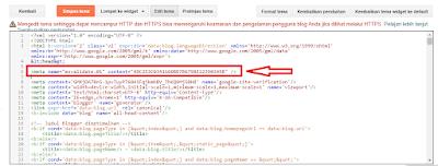 Cara Daftarkan Blog Ke Bing