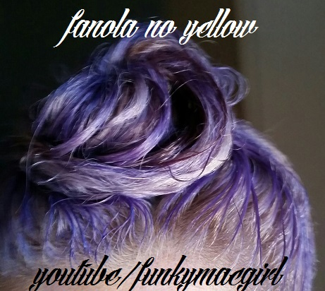 fanola no yellow shampoo instructions