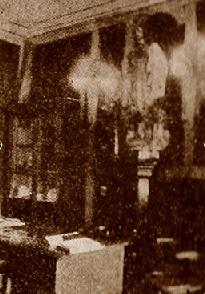 Secretaria del Casal Catòlic de Sant Andreu en 1932