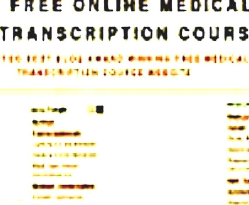 Literature: Medical Transcription - Medical Transcription