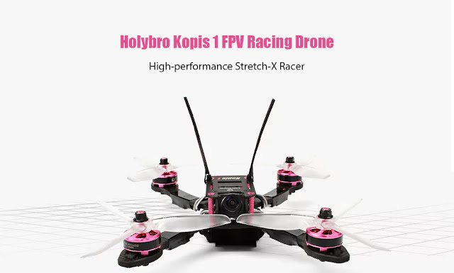 Coupon for Holybro Kopis 1 Brushless FPV Racing Drone