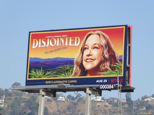 Disjointed series launch billboard