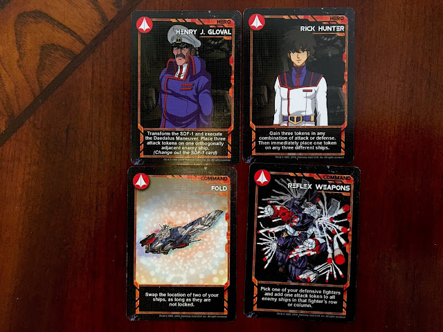 Robotech: Force of Arms Review Command Cards Hero Cards Everything Board Games