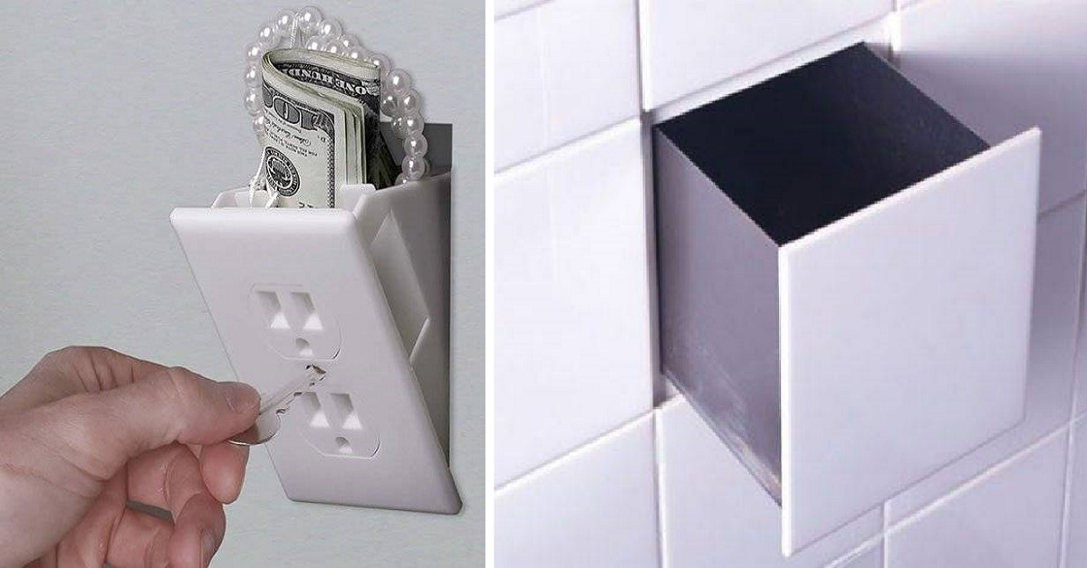 10 super escondites secretos para guardar tus cosas de - Escondites secretos en casa ...