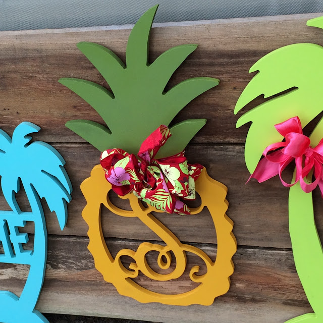 Summerville Flowertown Festival 2016 - Pineapple Monogram TK Designs | The Lowcountry Lady