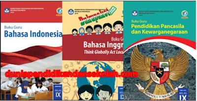 Buku Guru dan Siswa Kurikulum 2013 Terbaru Revisi 2018 Kelas IX/ 9 SMP MTs