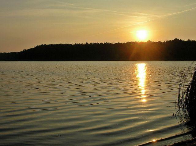 krajobrazy, wody, jeziora, lubuskie