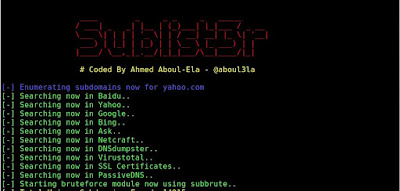 Sublist3r - Subdomain Enumeration