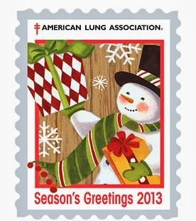 FREE 2014 Christmas Seals Stic...