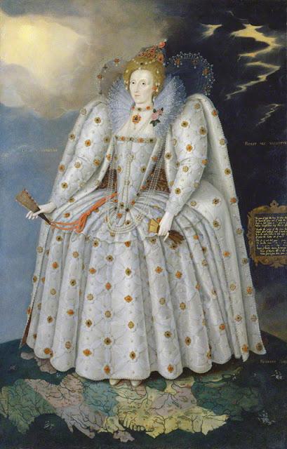 Marcus Gheeraerts - Queen Elizabeth I (Retrato Ditchley) - 1592