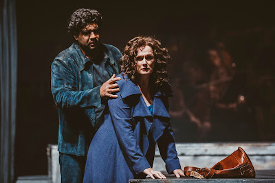 Wagner: The Ring - Die Walküre - Anthrew Sritheran as Siegmund, Magdalena Hormann as Sieglinde - Erl Festival (Photo Xiomara Bender)
