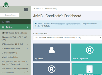 How to Re Upload WAEC Result On JAMB Portal