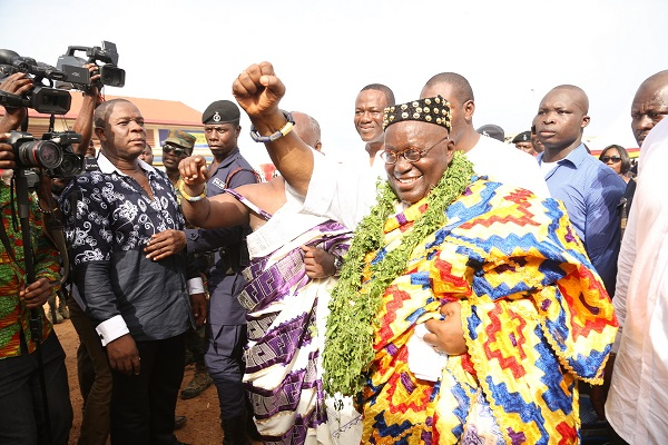 "President Akufo-Addo was given the stool name ""Nii Kwaku Ablade Okogyeaman I"","