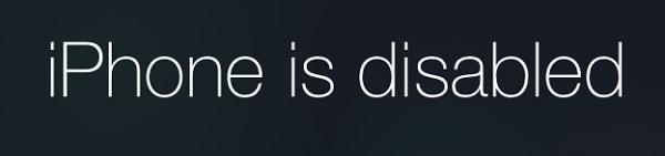 """Cara Perbaiki """"iPhone is Disabled"""" dengan iTunes"""
