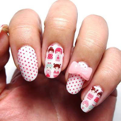 Kokeshi Nails