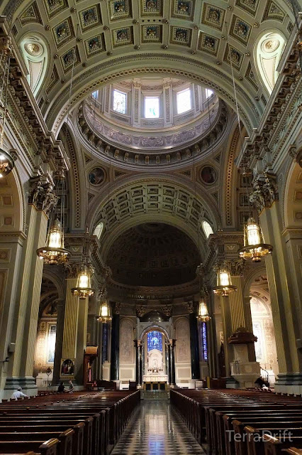 The Cathedral Basilica of Saints Peter and Paul in Philadelphia