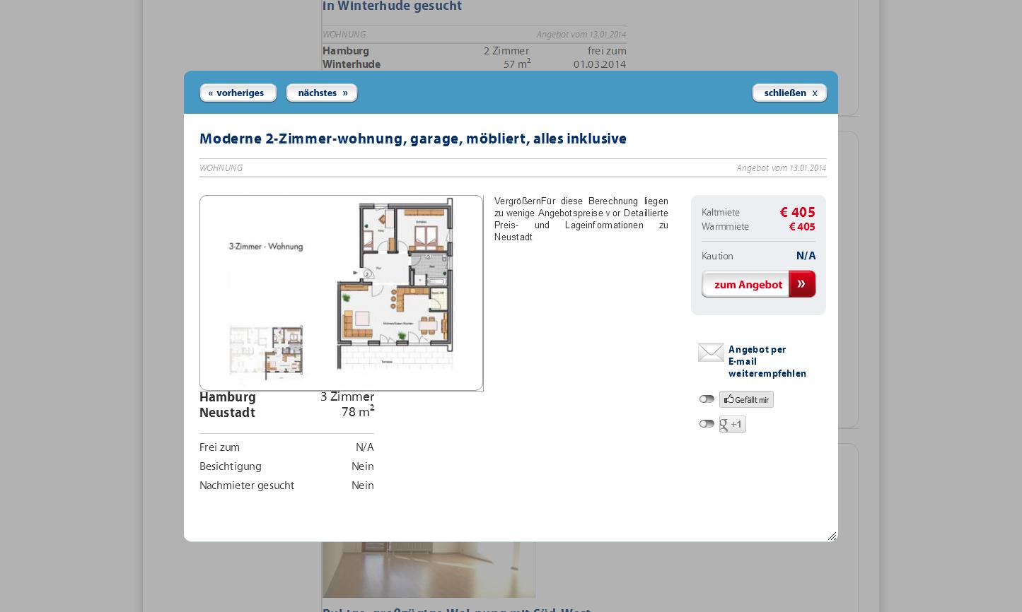 3 Zimmer Wohnung Stuttgart