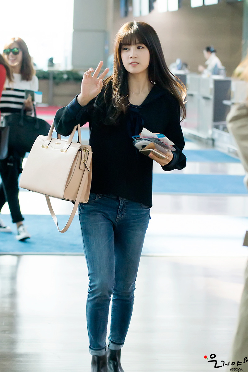 Apink Chorong Airport Fashion