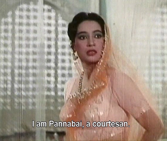 I am Pannabai, a courtesan