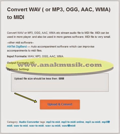 Cara Mengubah MP3 Menjadi MIDI