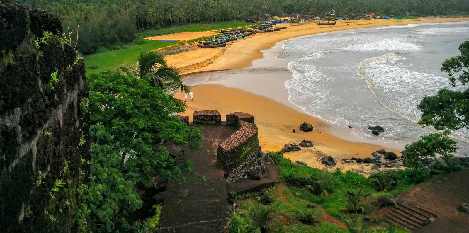 The gorgeous beaches of Kerala