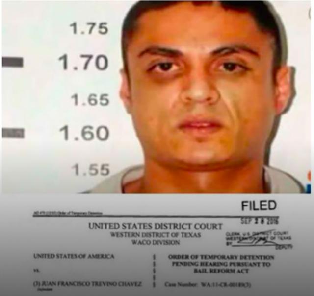 """Líder Zeta """"Kiko Treviño"""" traiciono a sus tíos el Z-40  y Z-42 es sentenciado a 2 cadenas perpetuas en EU, """"se pudrira"""" en la carcel de por vida"""