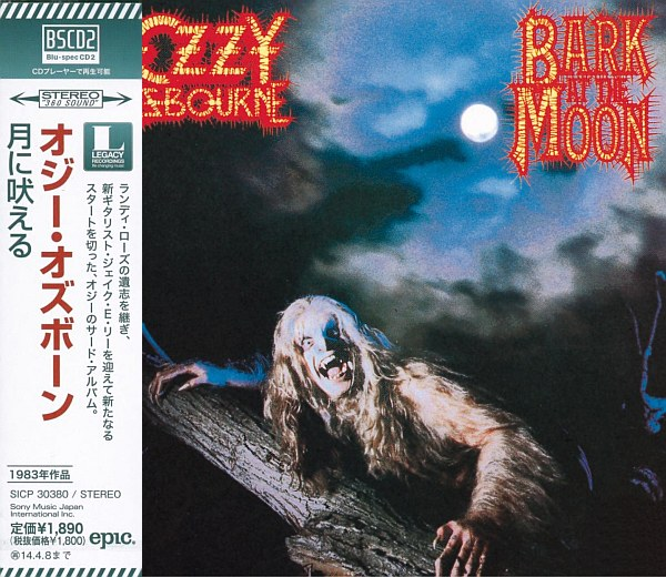 OZZY OSBOURNE - Bark At The Moon [Japan Blu-Spec CD2 remastered +2] full