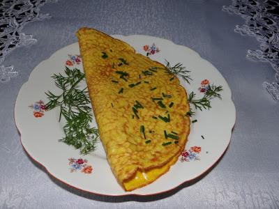 Omlet z ostropestem