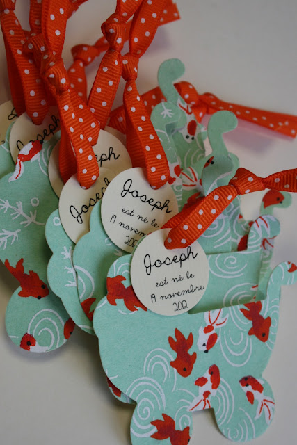 faire-part naissance raffiné papier japonais sur mesure raffiné fait main haut de gamme cadeau invité