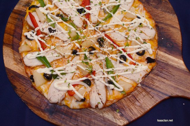 Chicken Sesame Pizza