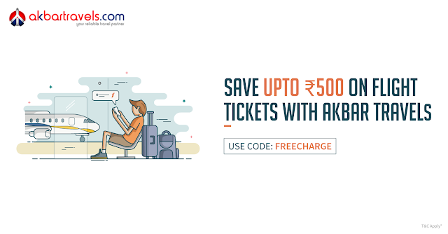 Akbar Travels Flat Rs.300 off And Flat Rs.500 Off Coupon