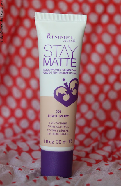Rimmel Stay Matte 091 Light Ivory