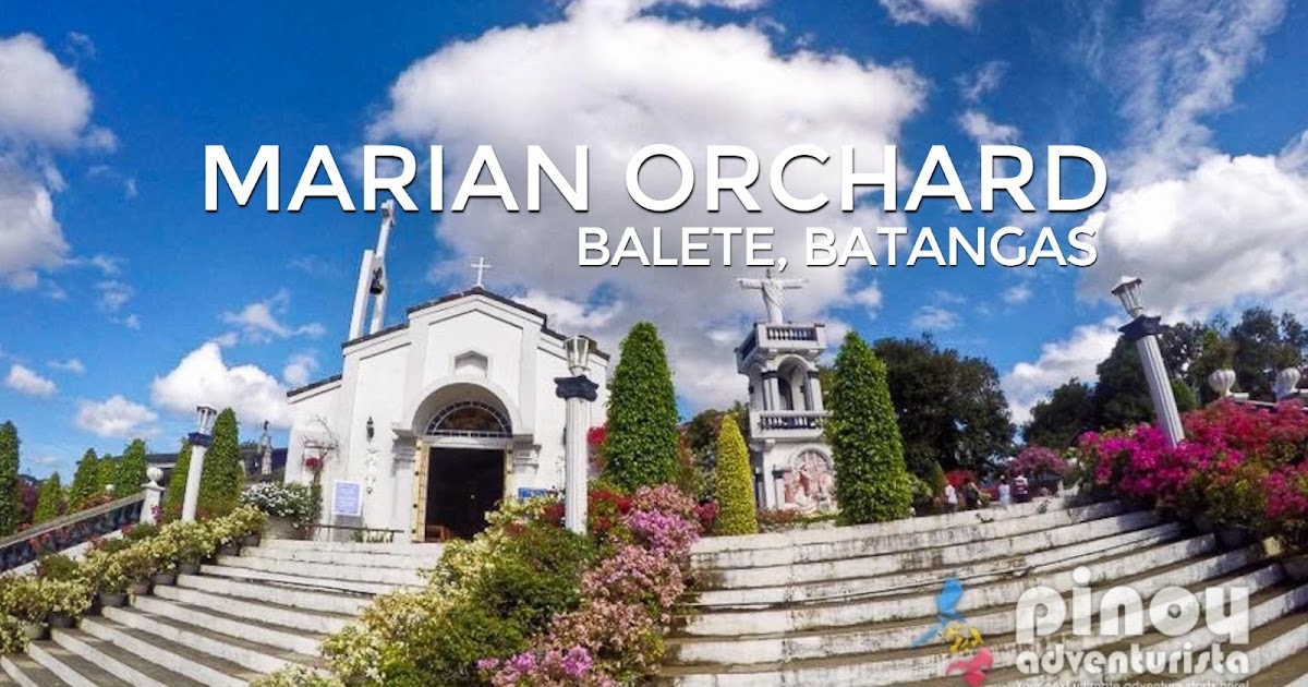 Bp Near Me >> The Marian Orchard Pilgrimage Site in Batangas (with ...