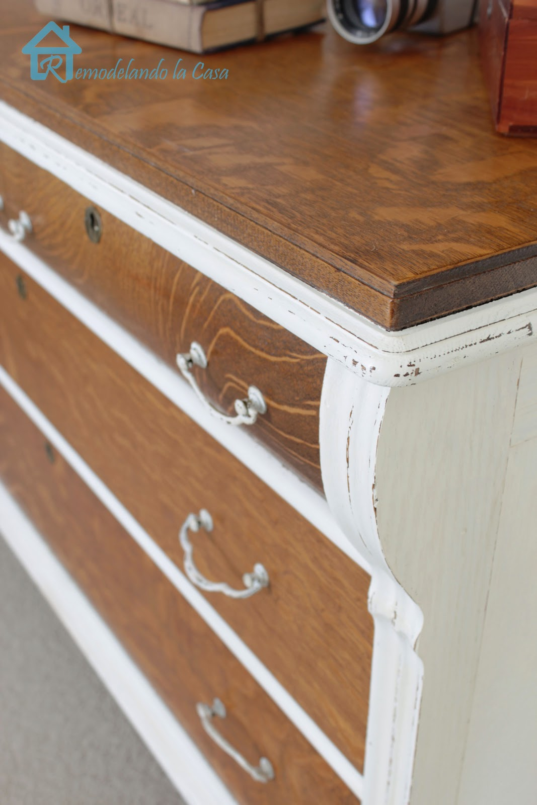 easy way to update a dresser